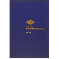 Appointment Book A4 1/4 hour 8.00am, 9pm 1412 Zions 15 minutes 210x297mm