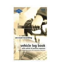 Log Books Pocket Vehicle and Expenses Record Book Zions VLER 180x110mm