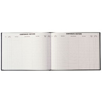 Corporate Visitors Book 192 Page 300x200mm 2810.P99 Debden