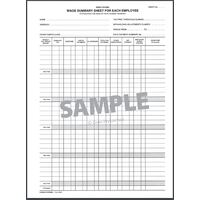 Wage Summary Sheets Zions 302C2 - box 25