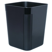 Rubbish Bin SWS 30 Litre Black Plastic 45790 Esselte
