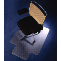 Chairmat Floortex Polycarbonate 120 x 134cm 100 Percent Recyclable - Recommended for carpet up to 12mm thick including underlay