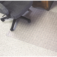 Chairmat Marbig 114x134cm Key Hole Dura Mat Grid Pattern Carpet Less Than 6mm 87226