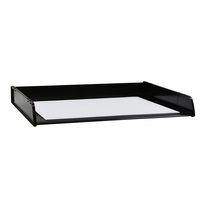 Desk Tray A3 Italplast I90 Black - each