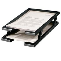 Desk tray 2 tier BLACK only Workspace I363  Workspace Document Tray (2 Tier Set)  Code: I 363