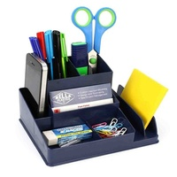 Desk Tidy Organiser Italplast I35 Antique Blue