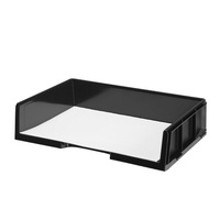 Document Tray A3 Esselte Celestial 48642 Black 466x321x107 Landscape