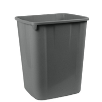 Waste Bin 32 litre Dark Grey no lid I180 - each