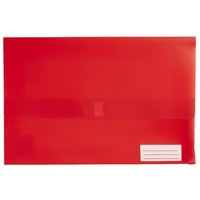 Document Wallet FC Polypick Marbig 2011003 Red Foolscap