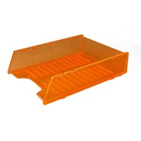 Document Tray Italplast Multi Fit I60 Neon Orange