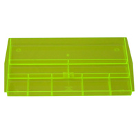 Drawer Tidy Italplast I70 Neon Yellow