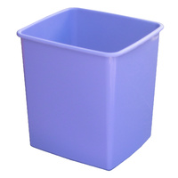 Rubbish Bin Plastic 15 Litre Italplast I80 Fruit Grape