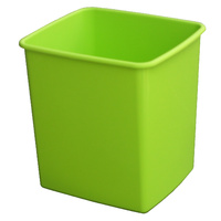 Rubbish Bin Plastic 15 Litre Italplast I80 Fruit Lime