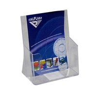 Brochure Holder A5 1 compartment Single Italplast I549 Clear