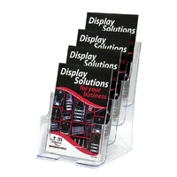 Brochure Holder A5 4 Tier Deflecto 77901 - each