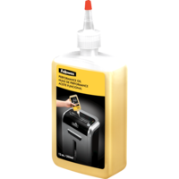 Shredder Oil Fellowes 35250 bottle use with all Fellowes cross-cut and micro-cut shredders