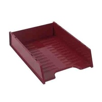 Desk Tray Italplast Multi Fit I60 Burgundy