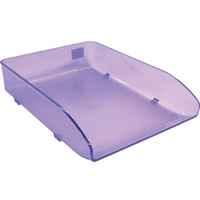 Document Tray Metro 3461S Frosted Grape
