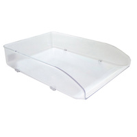 Desk Tray Metro 3461S Snow Crystal Grey