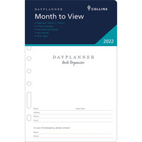 DayPlanner DK1300 2019 Refill MONTHLY DATED ONE YEAR Desk Edition Organiser