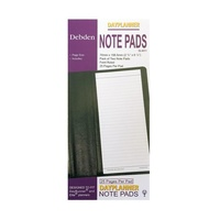 Dayplanner Slimline Refill SL4011 Lined Pad 162x82mm pack 2