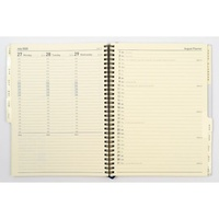 Diary 2021 Elite 1190 CRF Refill Week Vertical Quarto Executive Management VERTICAL WTO page size 260x190mm