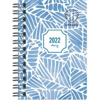 Diary 2021 Upward 5436 A7 Wire Week To View Assorted Designs