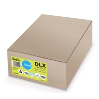 Envelopes 120x235 DLX window 6 Moist Seal Tudor 140354 - box 1000 white Envelopes Banker