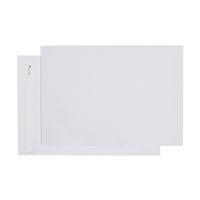 Envelope 324x229 C4 [PnS] [Sec] [Eo] White bx 250 80gsm Cumberland 612333 Strip Peel AND Seal EASY OPEN Secretive