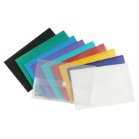 Document Wallet FC Beautone Velcro Closure 34259 Assorted Velcro Closure