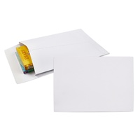 Envelopes 340x229mm C4 White Gussetted larger envelopes Peel and Seal - pack 100  920377