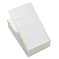 Computer Labels 152x74mm 1 wide white Avery 939126 - box 2000