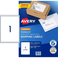 Labels  1up InkJet J8167 Avery 936020 box 25 White Permanent