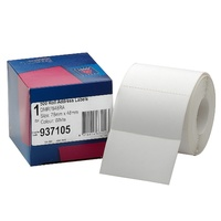 Label dispenser box 49x78mm 937105 Box 500
