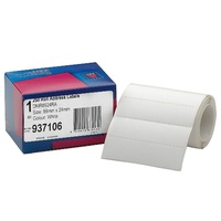 Label dispenser box 24x89mm 937106 Plain Box 250