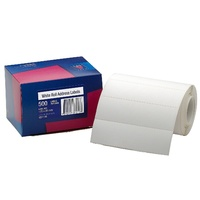 Label dispenser box 36x125mm 937110 Plain Box 500