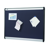 Fabric Board Quartet Prestige Magnetic 1200mm x 915mm Aluminium QTMB544A - each