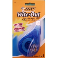 Correction  Tape 4.2mm x 10m BIC Wite-Out 50523