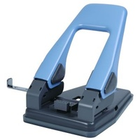Paper Punch 2 hole  30 sheet 80 Blue Open