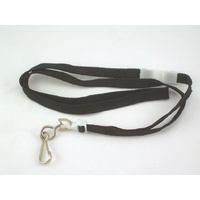 "Lanyard Breakaway Black pack 25 ID1018B 965mm (38"") approx length"