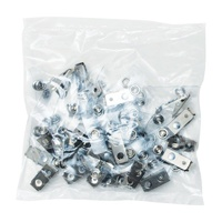 Strap Clips ID Kevron Clips Only ID1015 Pack 25 Vinyl ID1015BG25