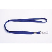 Lanyard Flat With Swivel Clip Blue pack 10 9805001 Rexel