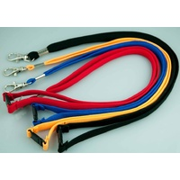 Lanyard Breakaway Assorted pack 20 D Clip LD219 (5 Black +3 of each other colour)