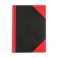 Notebook 128x180 Black and Red 100 Leaf 08300