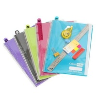 Notebook A4 Marbig Colourhide A4 With Clear Case 1717199 - each