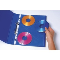 CD DVD Pockets A4 3 Capacity Pack 10 Marbig 25718