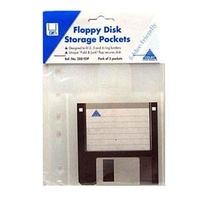 Pocket Colby 288FDP Floppy Disk Storage Pack 5 -