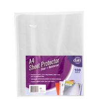 Sheet Protector A4  35 micron box 100 Dats 51274