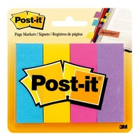 Page Markers Post-it 3m 25x75mm 671-4au Ultra Colours 0388736 - pack 4 Post-it