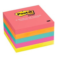 Post-it notes 75x 75mm Capetown 3m 654-5PK 0340059 - pack 5 76 mm x 76 mm, Cape Town Collection